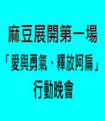 麻豆展開第一場「愛與勇氣、釋放阿扁」行動晚會|台灣e新聞