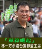 「草莽崛起」-我參選台灣獨立建國聯盟主席的時代意義 |◎林一方|台灣e新聞