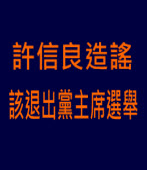 許信良造謠 該退出黨主席選舉|台灣e新聞