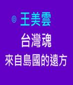 台灣魂來自島國的遠方∣◎ 王美雲  |台灣e新聞