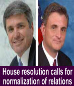 Report from Washington House resolution calls for normalization of relations