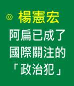 楊憲宏:阿扁已成了國際關注的「政治犯」|台灣e新聞