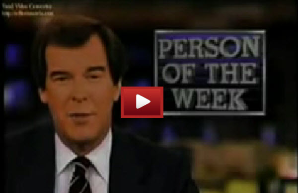 Jack Healey person of the week