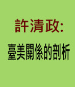 許清政:臺美關係的剖析 |台灣e新聞