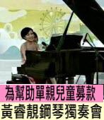 黃睿靚2012鋼琴獨奏慈善音樂會|台灣e新聞
