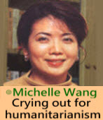 Crying out for humanitarianism∣By Michelle Wang 王美琇 |台灣e新聞