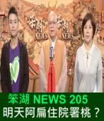 《笨湖 NEWS 205》明天阿扁住院署桃?|台灣e新聞