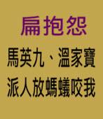 扁抱怨「馬英九、溫家寶派人放螞蟻咬我」∣台灣e新聞