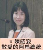 敬愛的阿扁總統∣◎ 陳昭姿|台灣e新聞