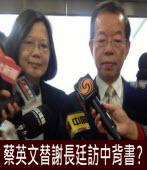 蔡英文替謝長廷訪中背書?|台灣e新聞