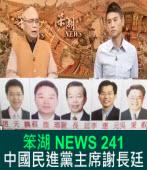 《笨湖 NEWS 241》 中國民進黨主席謝長廷?