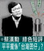 平平攏係「台灣囝仔」?∣◎ 蔡漢勳∣台灣e新聞