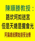 路坎坷如迷宮但是天總是攏會光∣作者: 陳順勝教授|台灣e新聞