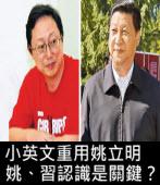 小英文重用姚立明,姚習認識是關鍵?|台灣e新聞