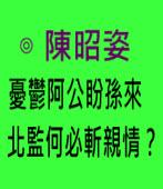 憂鬱阿公盼孫來 北監何必斬親情?∣台灣e新聞
