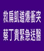 救扁凱道爆衝突 蔡丁貴緊急送醫∣台灣e新聞