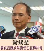 游鍚?:蘇貞昌應欣然接受江宜樺拜會∣台灣e新聞