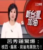 呂秀蓮驚爆:核四、扁案,背後有黑勢力!∣台灣e新聞