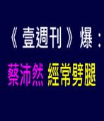 《壹週刊》爆:蔡沛然經常劈腿∣台灣e新聞