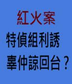 紅火案特偵組利誘辜仲諒回台? ∣台灣e新聞