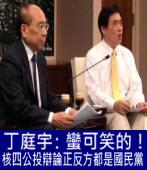丁庭宇:蠻可笑的!核四公投辯論正反方都是國民黨|台灣e新聞