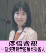 疼惜睿靚-一位沒有聲音的扁案受害人∣◎ 陳昭姿 ∣台灣e新聞