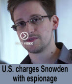 The Washington Post: U.S. charges Snowden with espionage -台灣e新聞