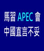 馬習APEC會 中國直言不妥 - 台灣e新聞