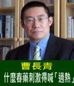 曹長青:什麼春藥刺激得喊「過熱」- 台灣e新聞
