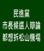 民進黨市長候選人辯論 都想拆松山機場-台灣e新聞