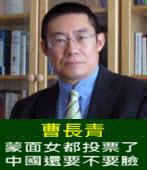 曹長青:蒙面女都投票了 中國還要不要臉- 台灣e新聞