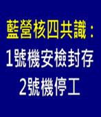 藍營共識 停建核四、立即封存-台灣e新聞