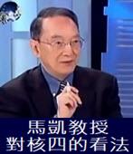 馬凱?授對核四的看法-台灣e新聞