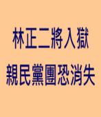 林正二將入獄 親民黨團恐消失 - 台灣e新聞