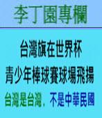 台灣旗在世界杯青少年棒球賽球場飛揚 ( 台灣是台灣﹐不是中華民國 ) -◎ 李丁園- 台灣e新聞