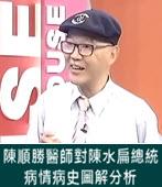 陳順勝醫師對陳水扁總統病情病史圖解分析  - 台灣e新聞