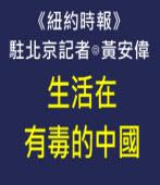 《紐約時報》駐北京記者:生活在有毒的中國-台灣e新聞