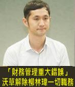 「財務管理重大錯誤」 沃草解除柳林瑋一切職務- 台灣e新聞