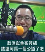 政治獻金案簽結 陳致中:該還阿扁一個公道了吧 - 台灣e新聞