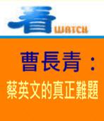 曹長青:蔡英文的真正難題 - 台灣e新聞