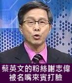 蔡英文的粉絲謝志偉被名嘴來賓打臉 -台灣e新聞