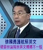 徐國勇護航蔡英文 硬掰蔡瀛陽蔡英文媽媽不一樣-台灣e新聞