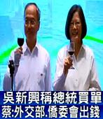 吳新興強調國宴總統買單 蔡 : 外交部、僑委會出錢 - 台灣e新聞