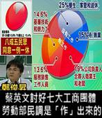 蔡英文討好七大工商團體 勞動部民調是「作」出來的- 台灣e新聞