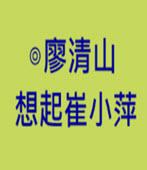 想起崔小萍  - ◎廖清山 - 台灣e新聞