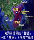 南海海域僅能「路過」不能「捕魚」?漁業界崩潰 -台灣e新聞
