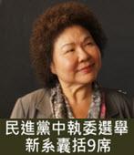 民進黨中執委選舉 新系囊括9席 -台灣e新聞