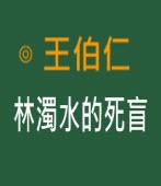 林濁水的死盲 -◎ 王伯仁 - 台灣e新聞