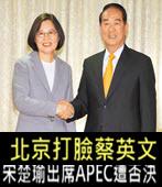 北京打臉蔡英文 宋楚瑜出席APEC遭否決- 台灣e新聞