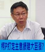 柯P打定主意續建大巨蛋?- 台灣e新聞